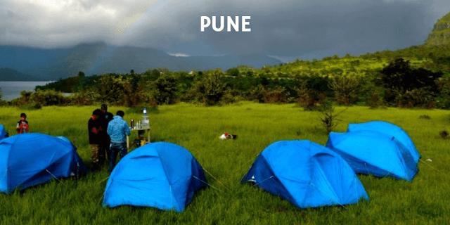 Trekking tents for rent in Pune