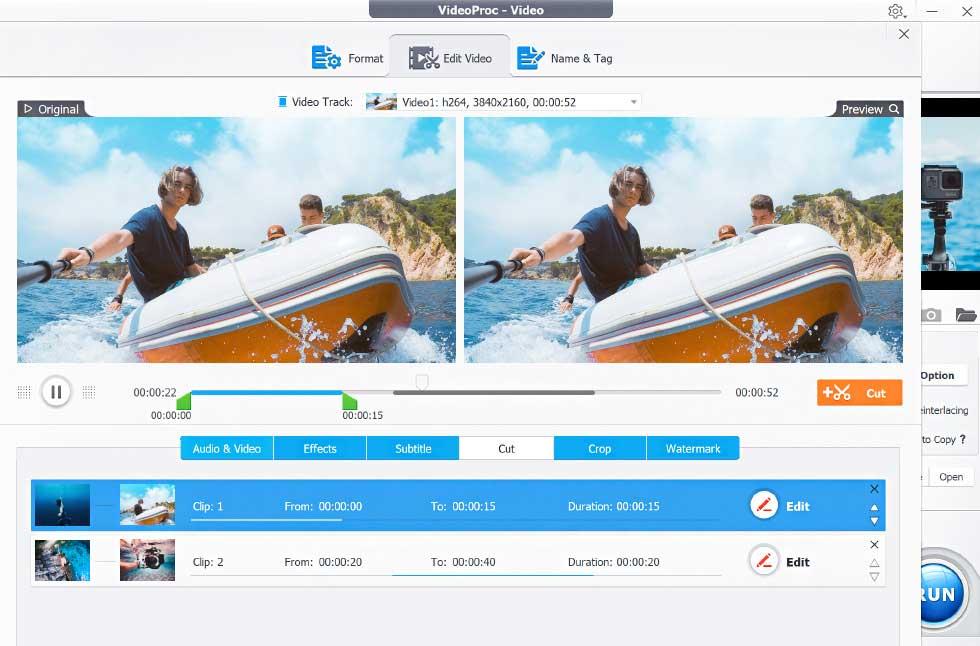 VideoProc مراجعة | كيفية معالجة الفيديو 4K
