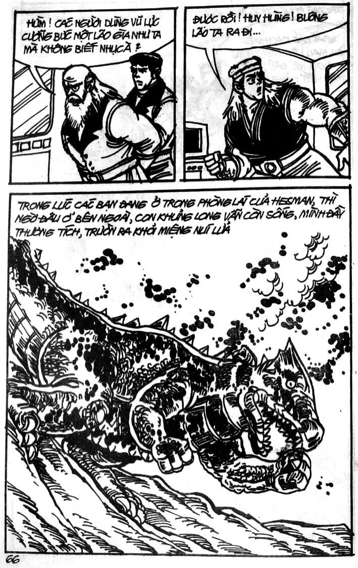 Dũng Sĩ Hesman tập 121 - chạy trốn tử thần trang 65