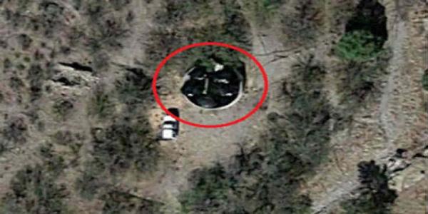 Μυστηριώδες αντικείμενο στα βουνά της Αριζόνα στους χάρτες του Google Maps