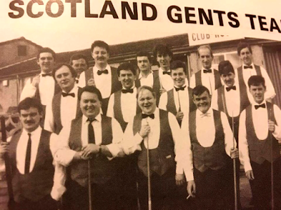 Scotland Gents Pool Team 1991