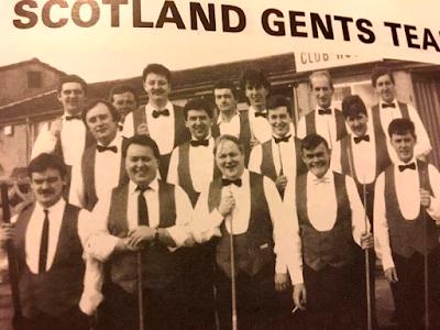 Scotland Gents Pool Team 1991