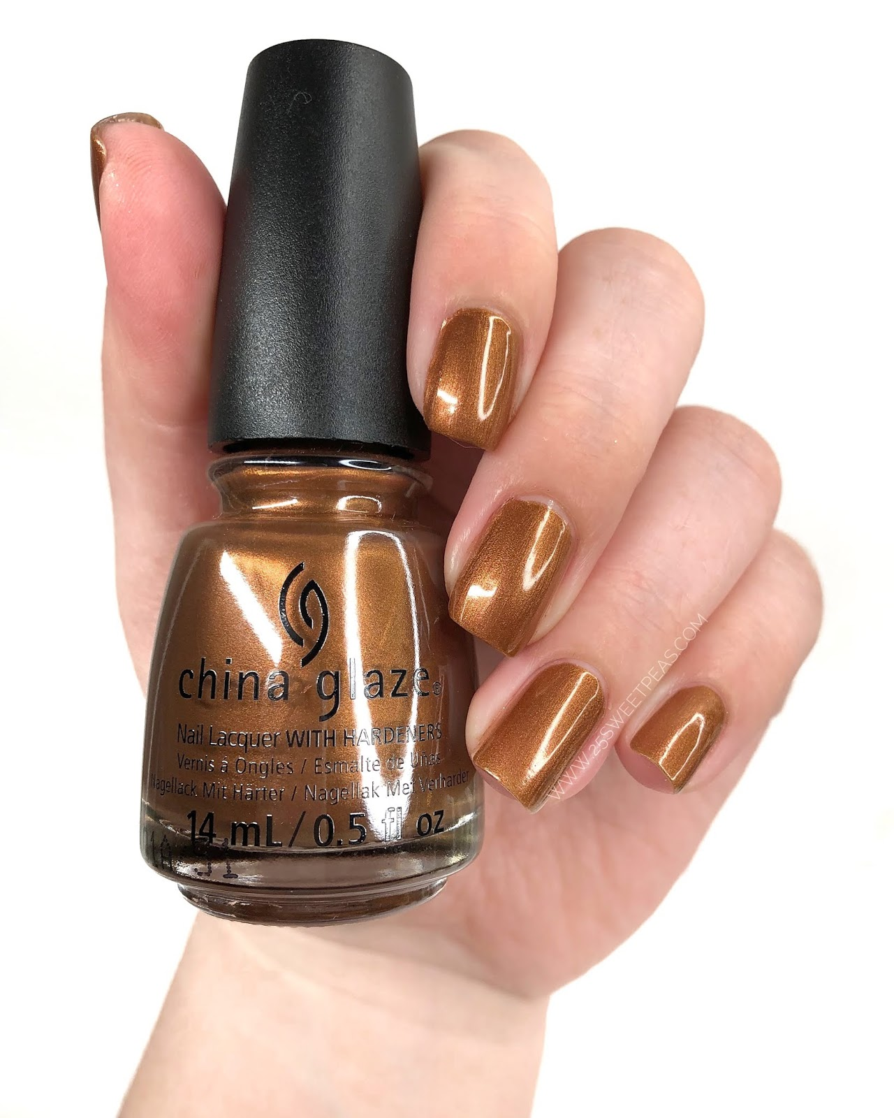 China Glaze Copper-Tunist 25 Sweetpeas