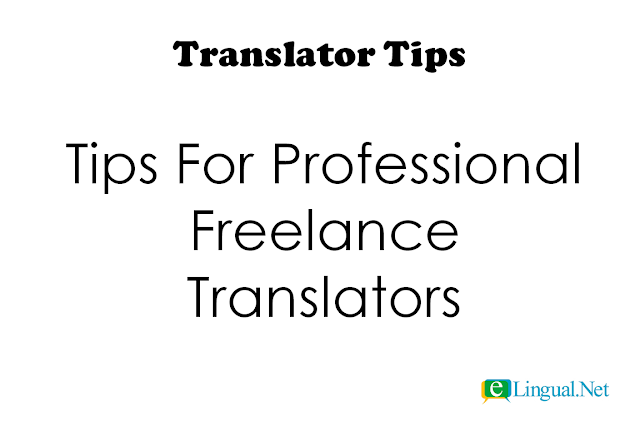 Translator Tips | www.elingual.net