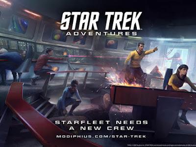 Chris Birch habla sobre el nuevo Star Trek Adventures RPG