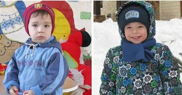 Φωτογραφίες παιδιών πριν και μετά την υιοθεσία τους, δείχνει τη χαρά ζωγραφισμένη στα πρόσωπα τους