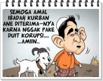 gambar 2 ucapan idul adha lucu hasil korupsi