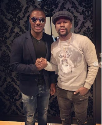 2 4 - ENTERTAINMENT: Jude Ighalo Pictured With Floyd Mayweather In Las Vegas