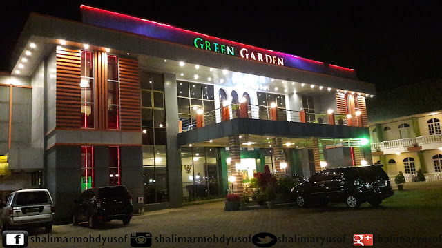 HOTEL GREEN GARDEN DI BERASTAGI INDONESIA