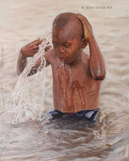 Check Out This Beautiful Painting By A Nigerian Artist