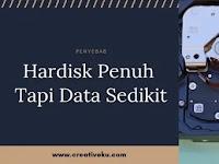 Hardisk Penuh Tapi Data Sedikit ! Ini Penyebabnya