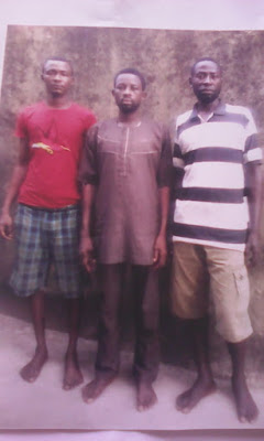 Faces Of Armed Robbers Captured By FSARS Operatives In Lagos