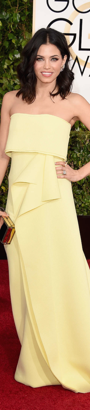 Jenna Dewan 2015 Golden Globes