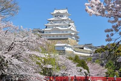 Festival de Sakura no Castelo de Himeji