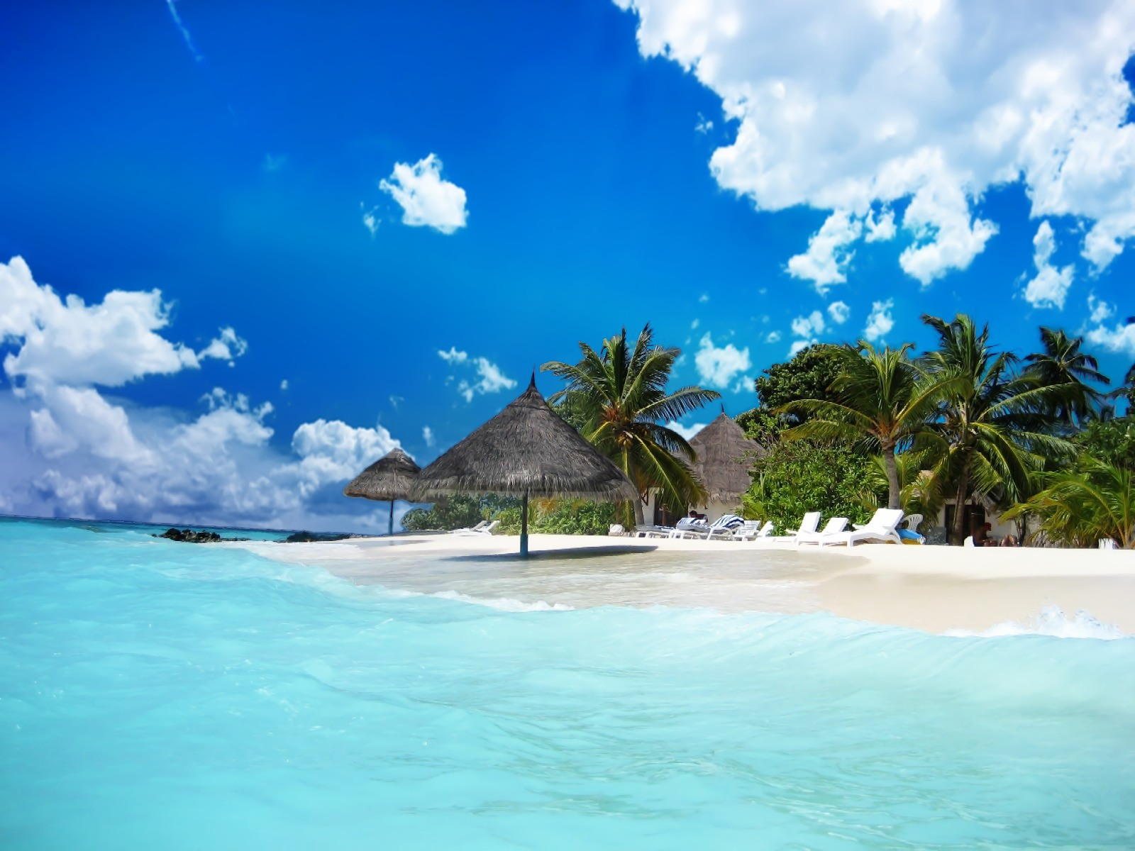 Tropical Island Paradise Pictures