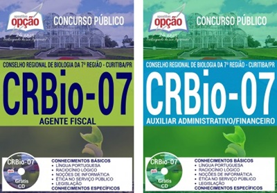 Apostila concurso CRBio 7 região PR 2017