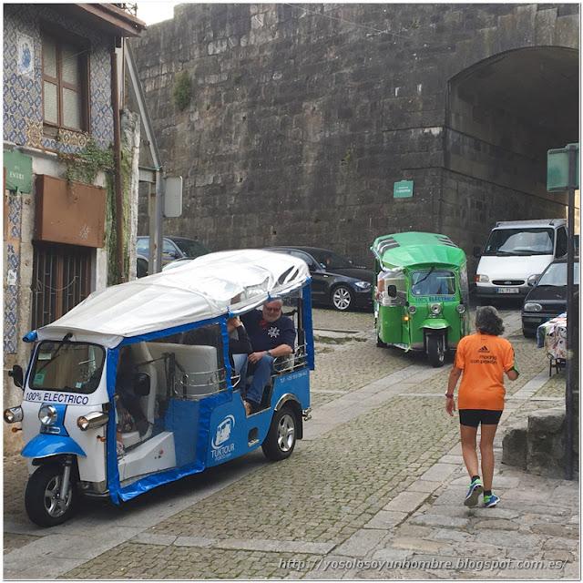 Distintas opciones para visitar la ciudad: corriendo o sentado