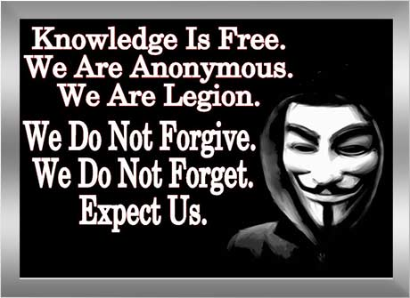 Sejarah Asal Usul Anonymous Hacker