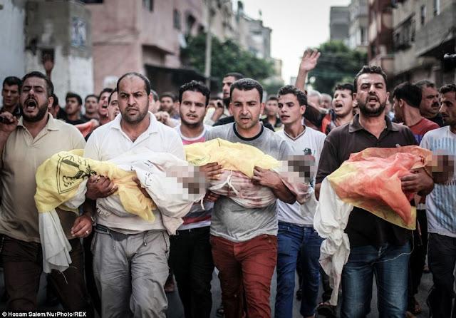 Tiga Bocah Palestina Jadi Korban Keganasan Pesawat Tempur Israel