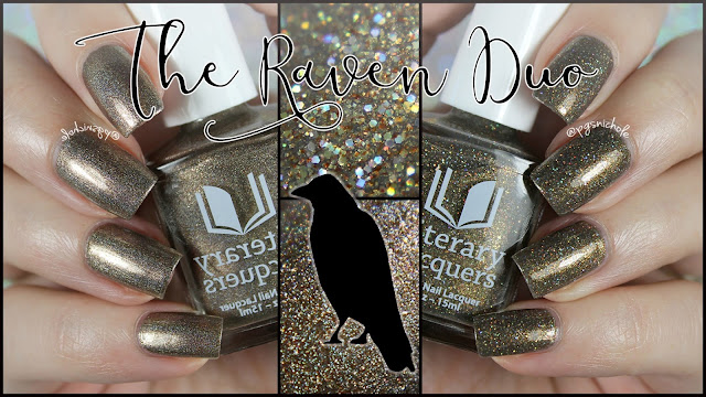 Literary Lacquers The Raven Duo
