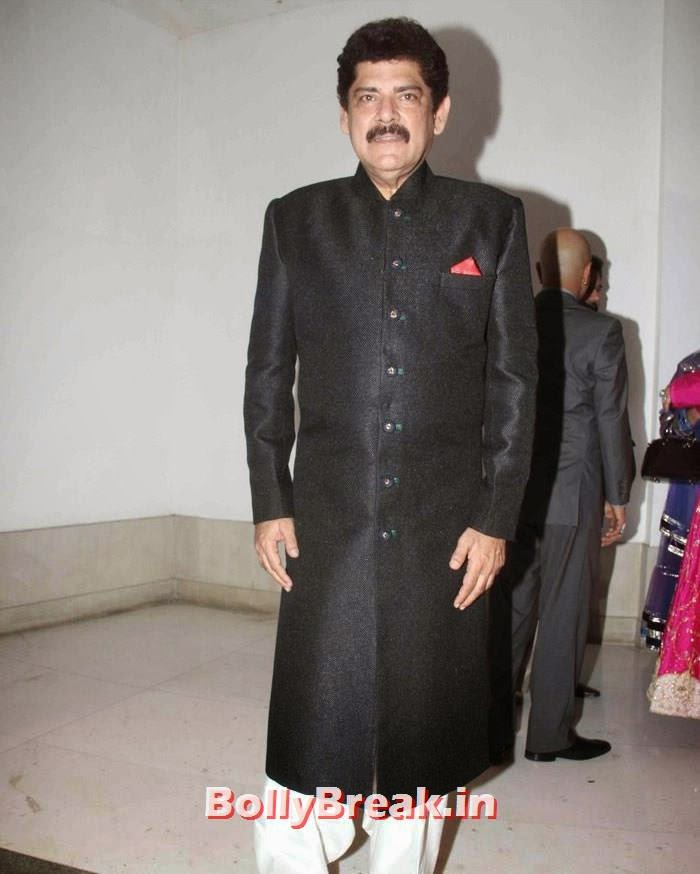 Pankaj Dheer, Nikitin Dheer, Kratika Sengar Wedding Pics