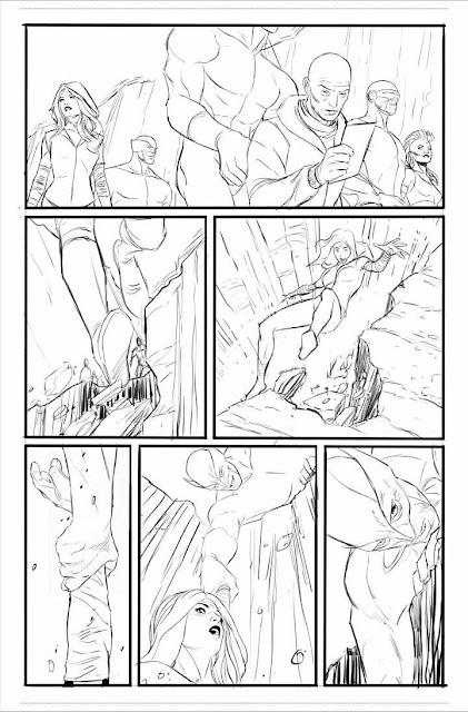 Imágenes del comic de Jackman en Logan por Quesada