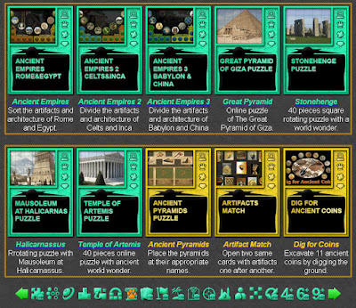 Online Ancient History Games