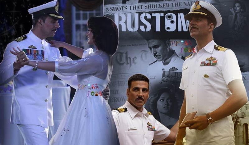 Navy Officer Rustom Akshay Kumar Illeana Dcruze romance and courtroom scene