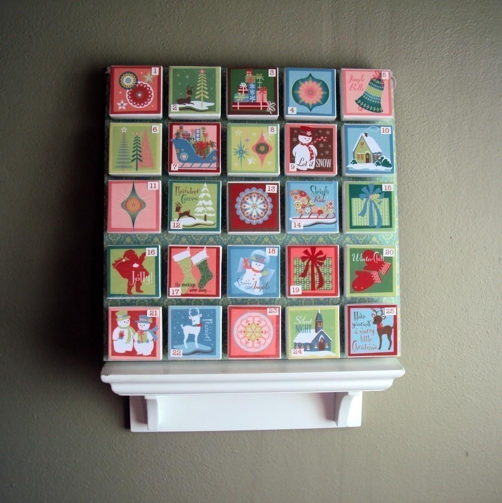 Advent Calendar Gift Ideas Uk : Handmade advent calendar ideas