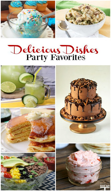 Over 100 delicious recipes you can share with your family and friends can be found in our Delicious Dishes Recipe Party every week.  Come join the fun on Walking on Sunshine Recipes.