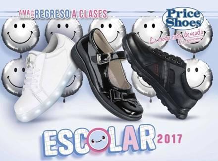 catalogo price shoes escolar 2017