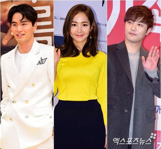 Lee Jin Wook, Park Min Young, dan Jin Goo