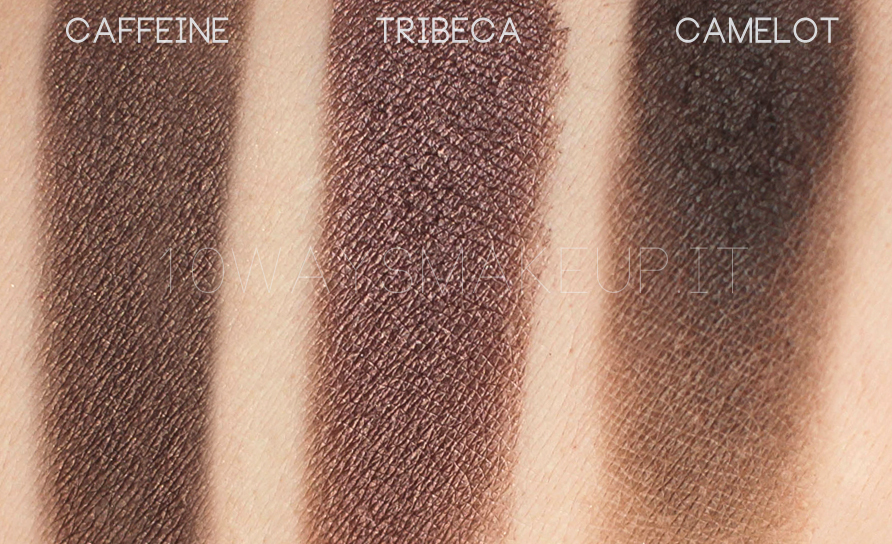 Nabla Caffeine Creme Shadow swatch