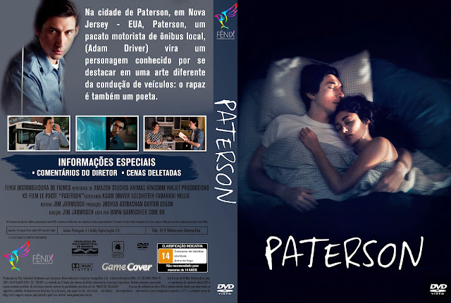 Capa DVD Paterson [Exclusiva]