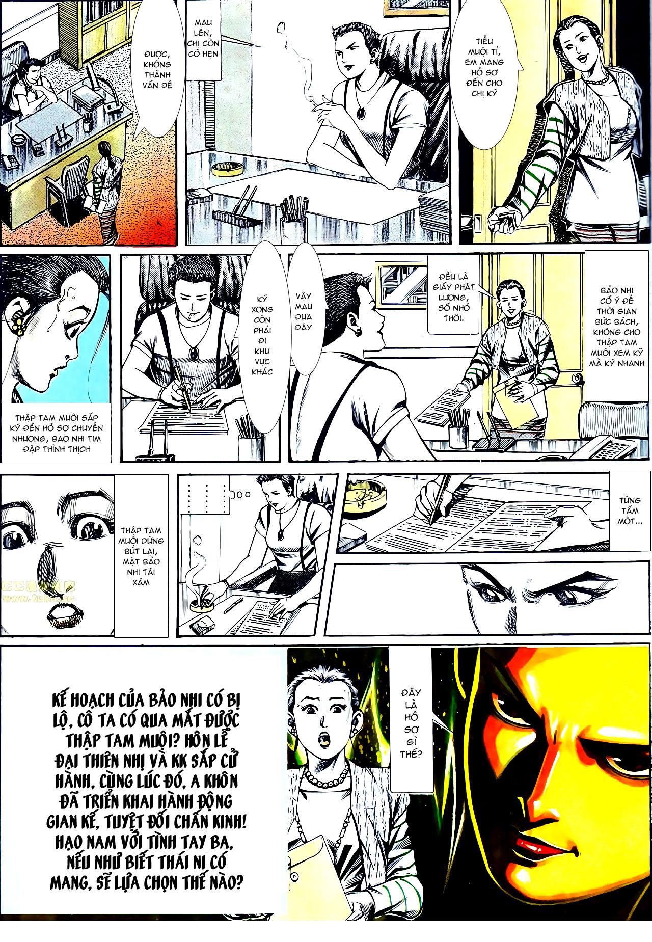 Người Trong Giang Hồ chapter 137: yêu nhất là ai trang 8