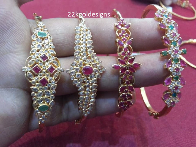 Light weight Gold Bracelet Designs