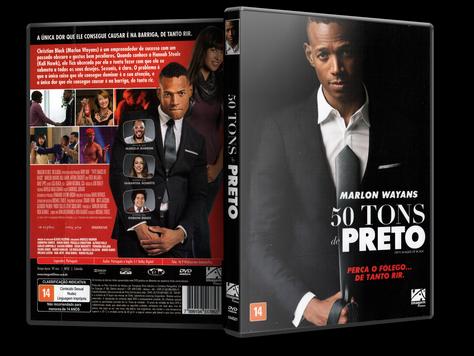 Capa DVD 50 Tons de Preto