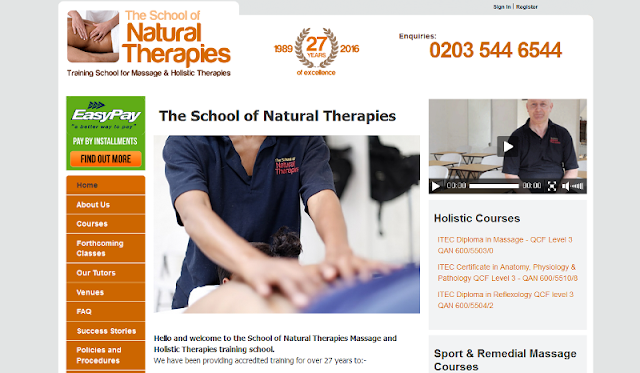 trusted provider of holistic and massage therapy courses