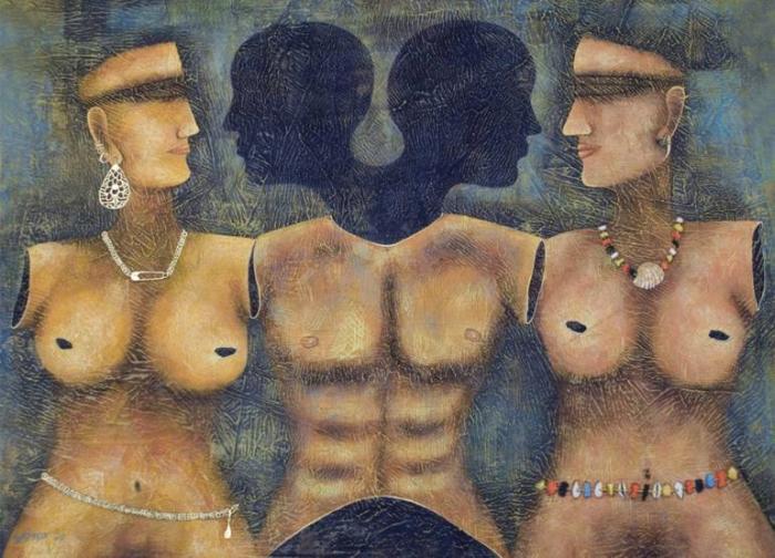 Индийский художник. Sudip Das