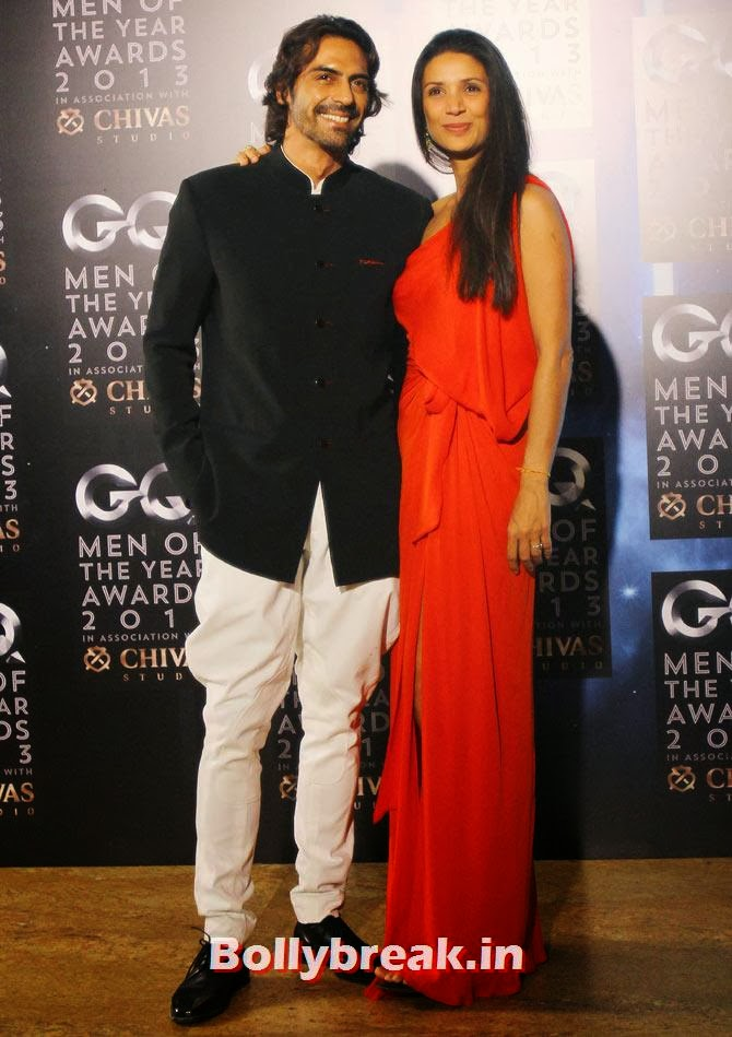 Arjun Rampal and Mehr Jesia, The most stylish couples of 2013
