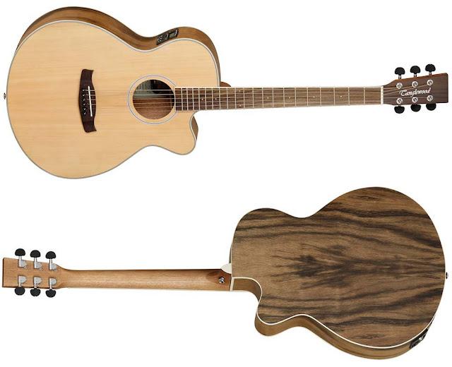Guitarra electroacústica Tanglewood DBTSFCEPW