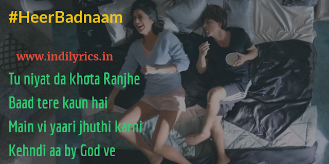 Heer Badnaam Karti | Zero | ft. Katrina Kaif | Full Song Lyrics with English Translation and Real Meaning Explanation