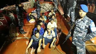 Kapal Vietnam yang Mencuri Ikan di Laut Natuna Diamankan TNI AL