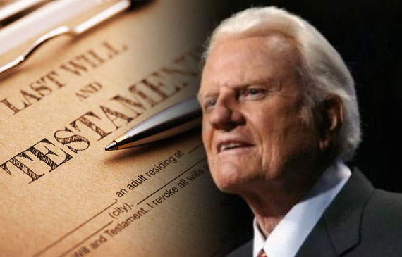 Testamento de Billy Graham