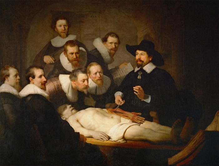 Rembrandt van Rijn - The Anatomy Lesson - Genre painting