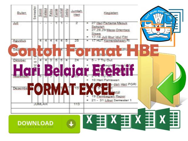 Contoh Format Analisis Hari Belajar Efektif Format Excel