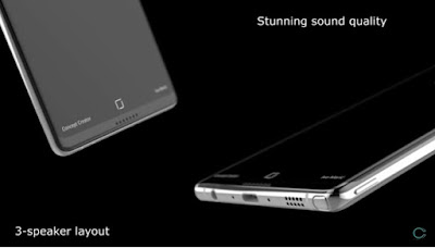 Samsung Galaxy Note 8 Concept with Dual Rear Camera