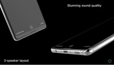 Samsung Galaxy Note 8 Concept with Dual Rear Camera