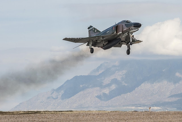 QF-4 MISSION NEARLY COMPLETE