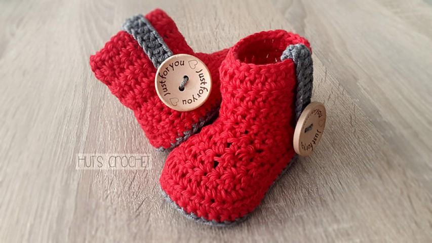 20 Pola Crochet Gratis Sepatu Bayi She Nisa
